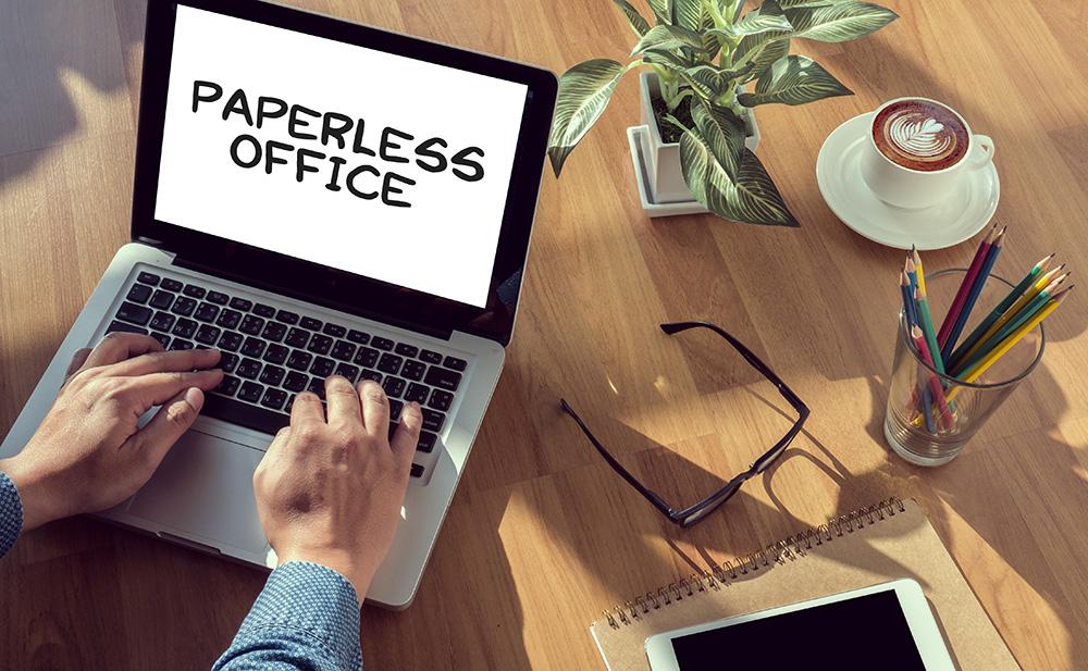 1-2-3 – papierfrei! 7 Tipps für den Weg in Ihr digitales Büro